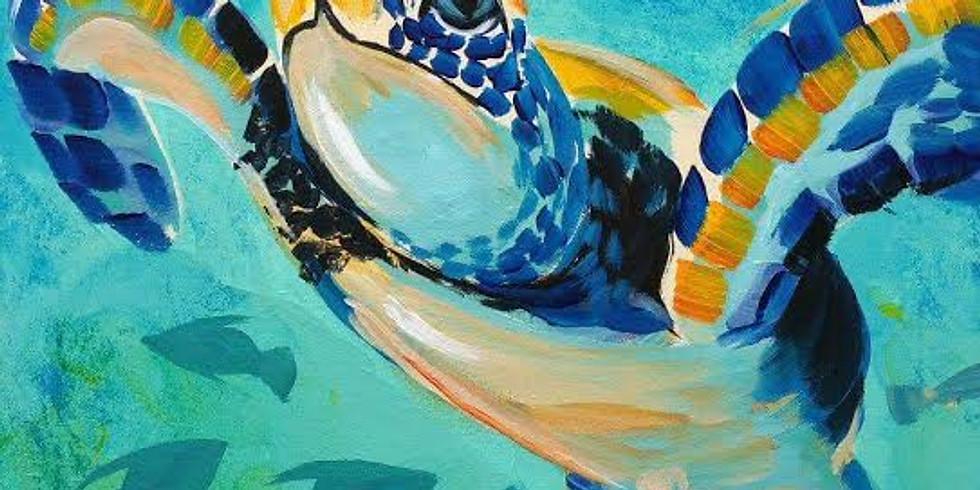 Sea Turtle |  JUNE 22 | 6-8:30 pm | $35