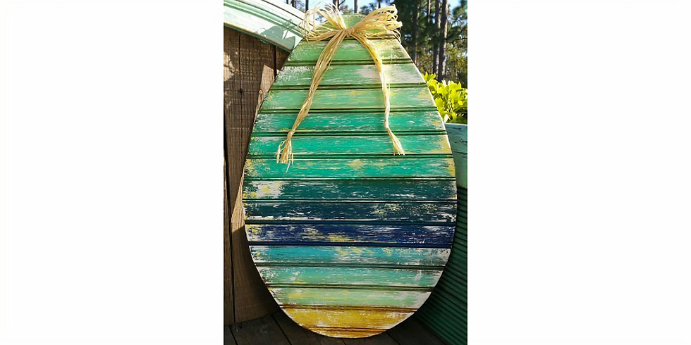 EASTER EGG DOOR HANGER (CHOOSE YOUR COLORS) | March 21 @ 6:00 pm - 8:30 pm | $40