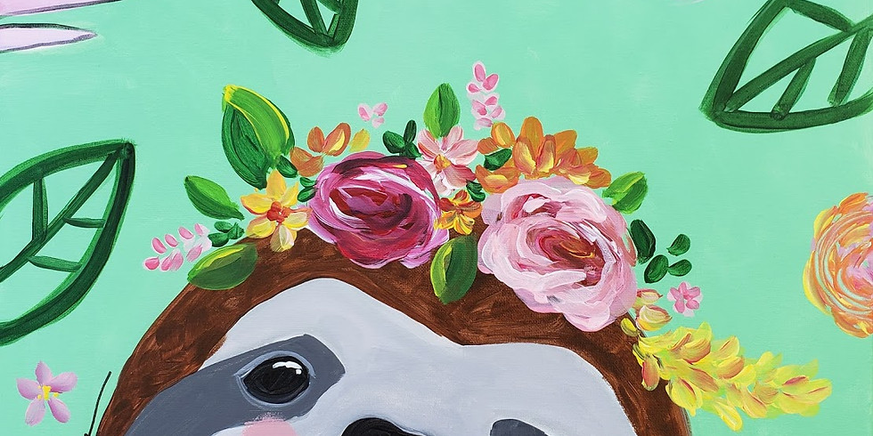 SILLY SLOTH |  JUNE 14 | 6-8:30 pm | $35