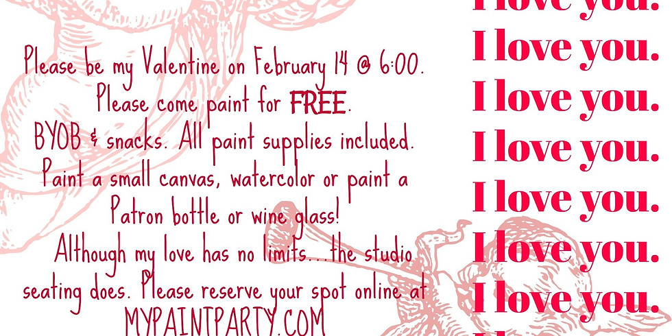 TANA'S SHOWING SOME LOVE TO HER CLIENTS! PAINT FOR FREE TONIGHT!