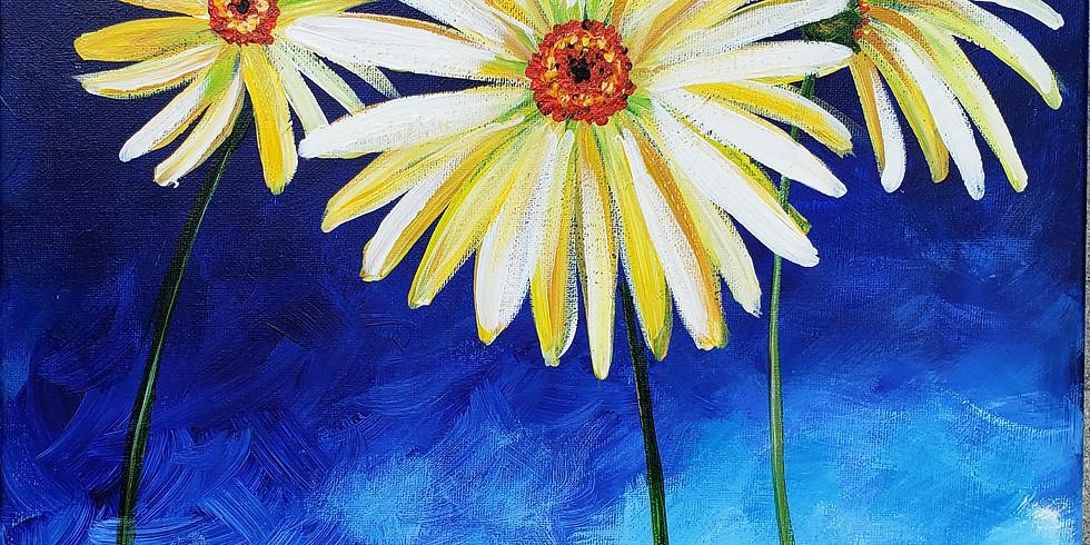 FLOWERS ON COBALT   SEPTEMBER 24   6-8:30 pm   $35