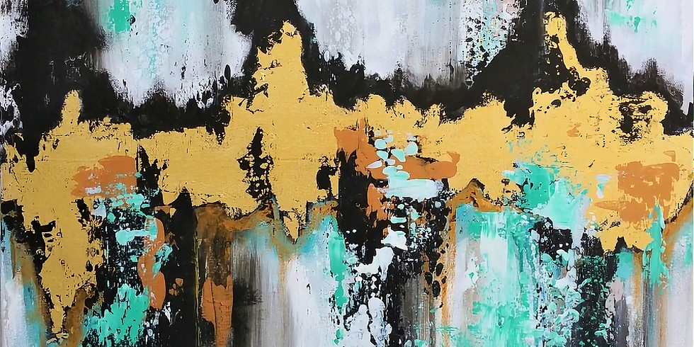 GOLD OR SILVER LEAF ABSTRACT |  MAY 29 | 6-8:30 | $40