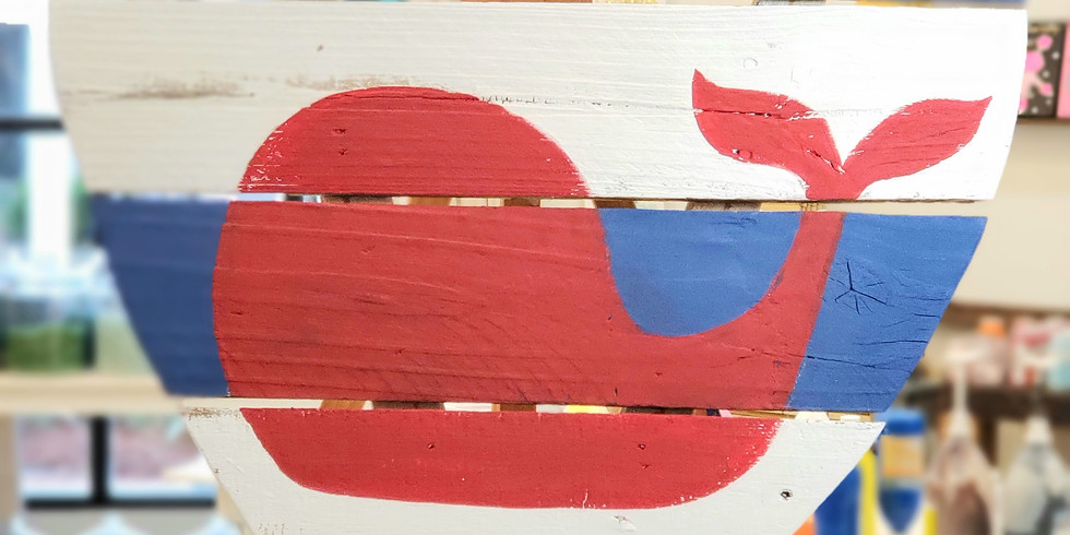 FEBRUARY 4   PALLET BOARD ART   6-8:30 pm   $45   CHOOSE YOUR OWN COLORS & DESIGN