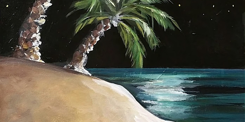 PALMS IN THE MOONLIGHT | OCTOBER 31 | 6-8:30 pm | $35