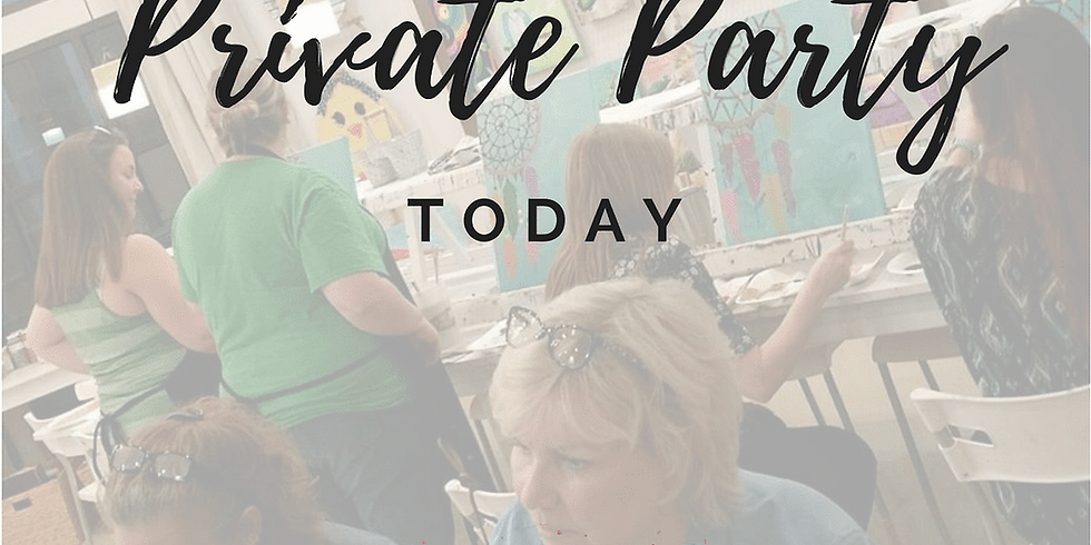 PRIVATE PARTY-CALL TANA TODAY TO BOOK YOURS! 850.258.2112