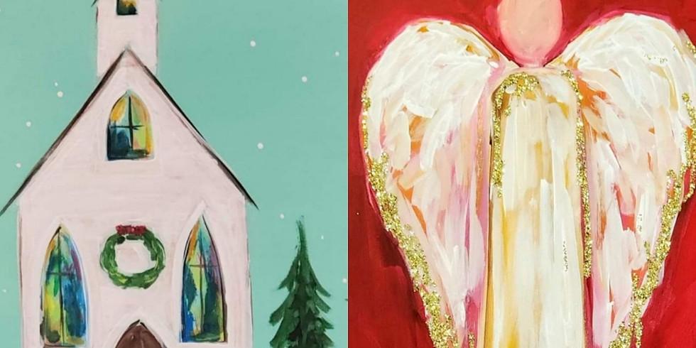 DECEMBER 18 | 6 PM | $35 | CHRISTMAS CHURCH or ANGEL