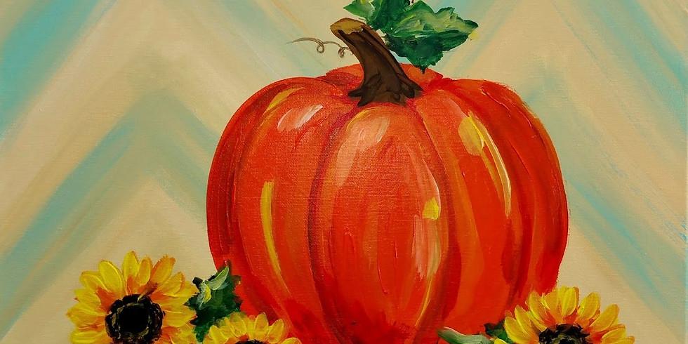 PUMPKIN FLORAL | OCTOBER 29 | 6-8:30 pm | $35
