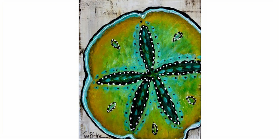 SEA LIFE SERIES: SAND DOLLAR | March 14 @ 6:00 pm - 8:30 pm | $35.00