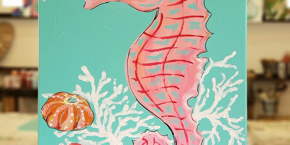 FEBRUARY 27    PINK SEAHORSE   6-8:30 pm   $35