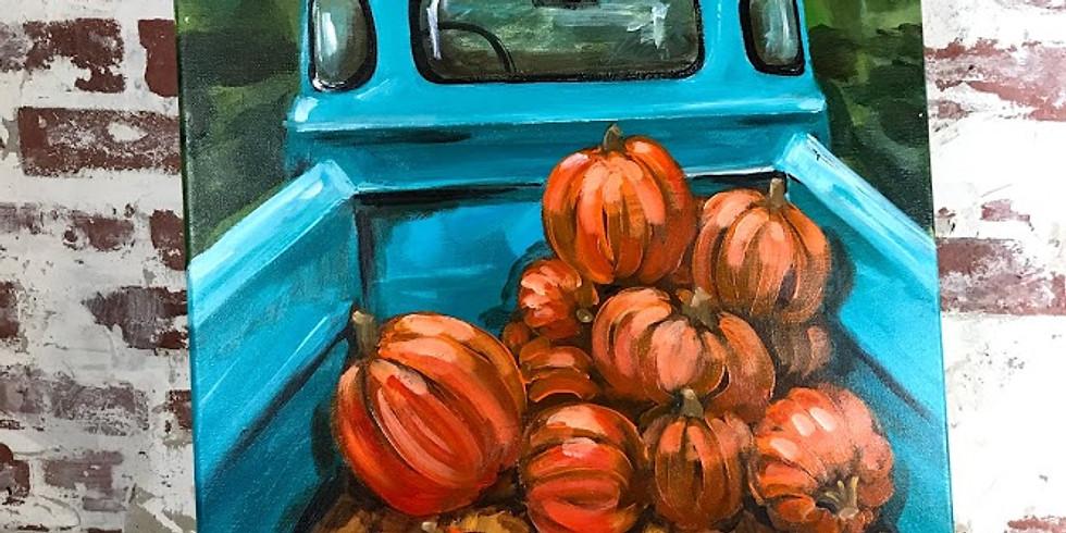 PUMPKIN TRUCK | OCTOBER 25 | 6-8:30 pm | $35