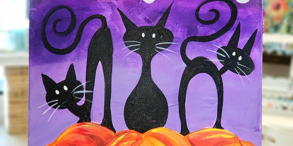 Ghosts, Kitties & Jack-O-Lanterns