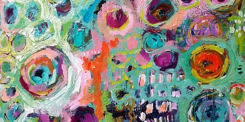 INTUITIVE ABSTRACT    JUNE 25   6-8:30 pm   $35