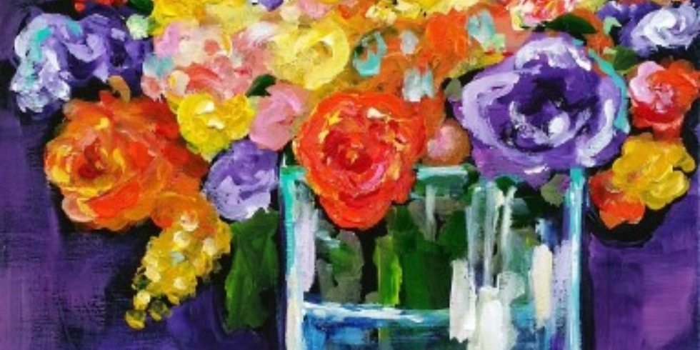 FALL FLORAL ON PURPLE   NOVEMBER 14   6-8:30 pm   $35