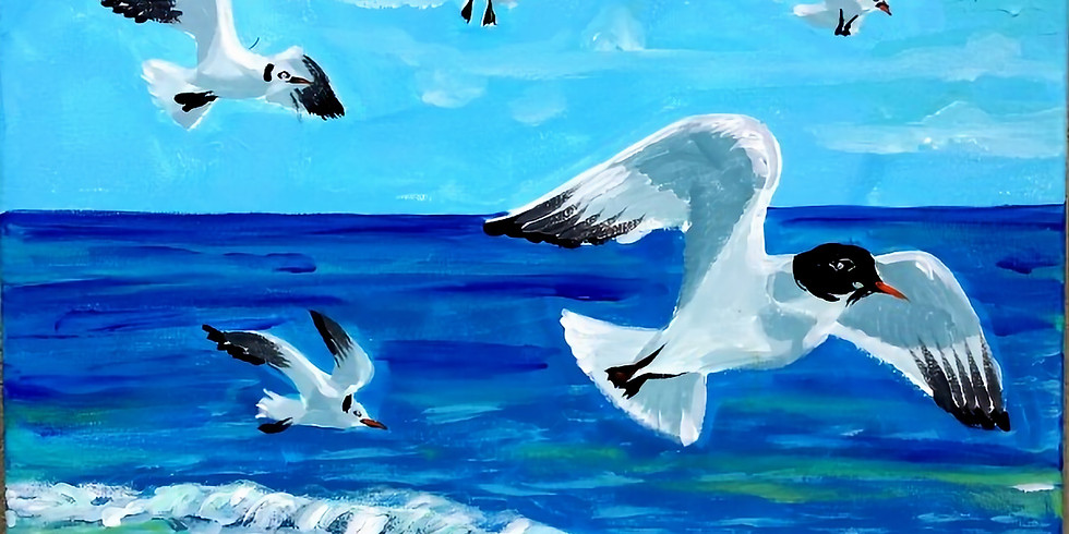 SEAGULLS   March 23 @ 6:00   $35