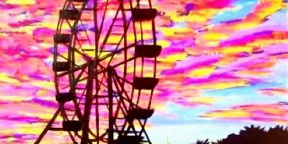 FERRIS WHEEL AT SUNSET | May 4th @ 6:00 pm - 8:30 pm