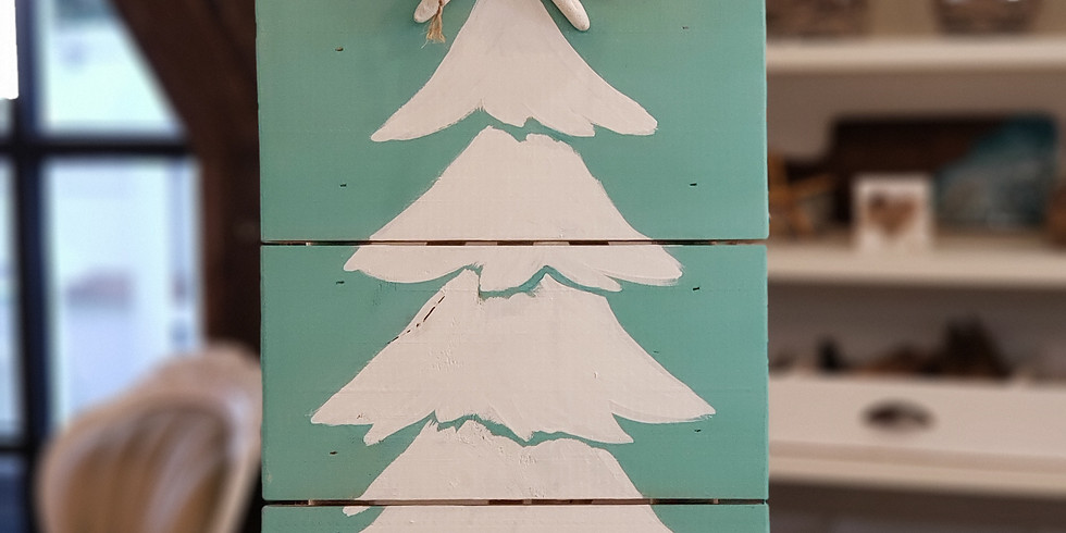 PALLET BOARD ART   NOVEMBER 26   6-8:30 pm   $45   CHOOSE YOUR OWN COLORS
