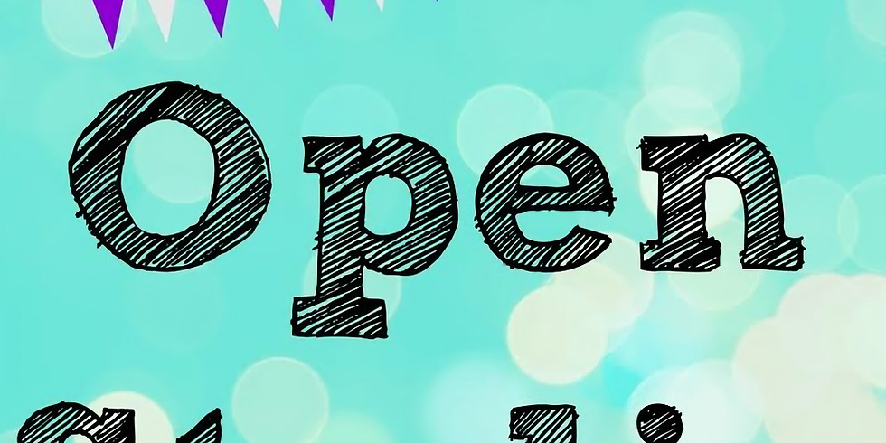 OPEN STUDIO   CHOOSE YOUR PROJECT   OCTOBER 26   6 - 8:30 pm   PRICES VARY, BASED ON YOUR PROJECT