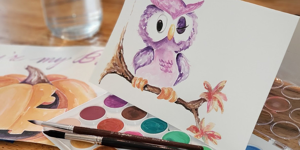 MARCH 11 | WATERCOLOR WEDNESDAY | 10 AM | $35