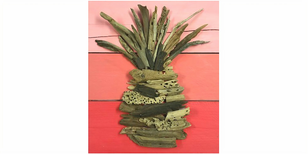 DRIFTWOOD ON PALLET WOOD! CHOOSE YOUR OWN DESIGN & PAINT COLORS! | March 15 @ 6:00 pm - 8:30 pm | $45.00