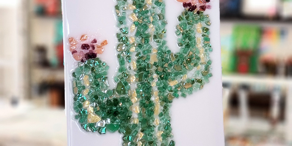 GLASS & EPOXY RESIN: CACTUS | NOVEMBER 2 | 6 - 8:30 pm | $50.00 | You must pre-pay for this event.