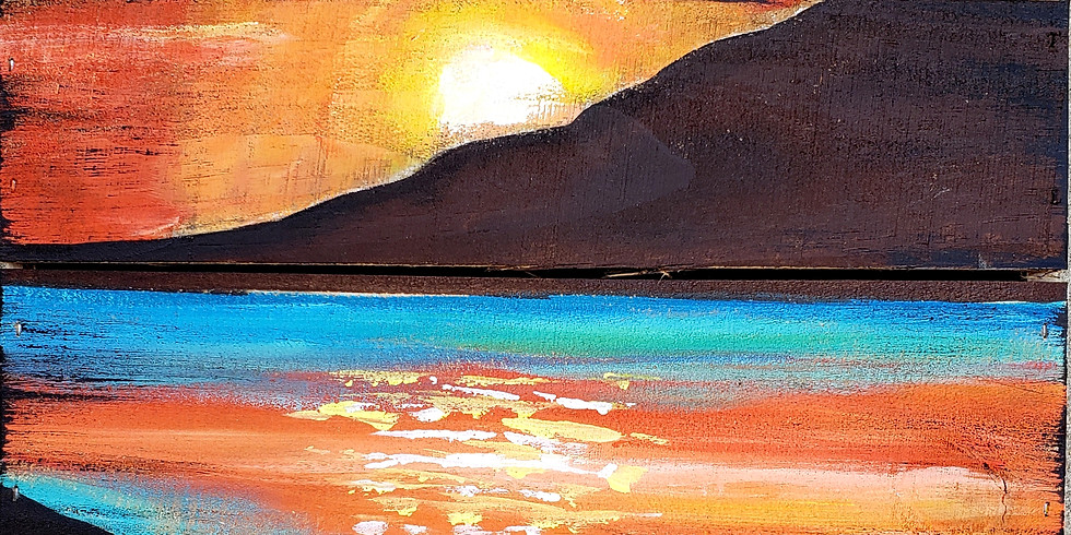 PALLET BOARD - SUNSET | AUGUST 14 | 6-8:30 pm | $40