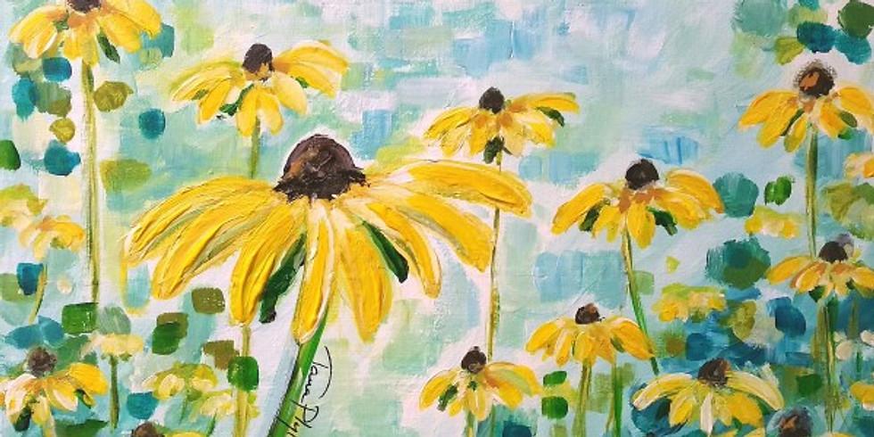 YELLOW FLOWERS | APRIL 10 @ 6:00 | $35