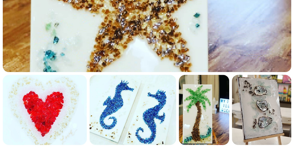Glass & Epoxy Resin! Lots more to choose from!