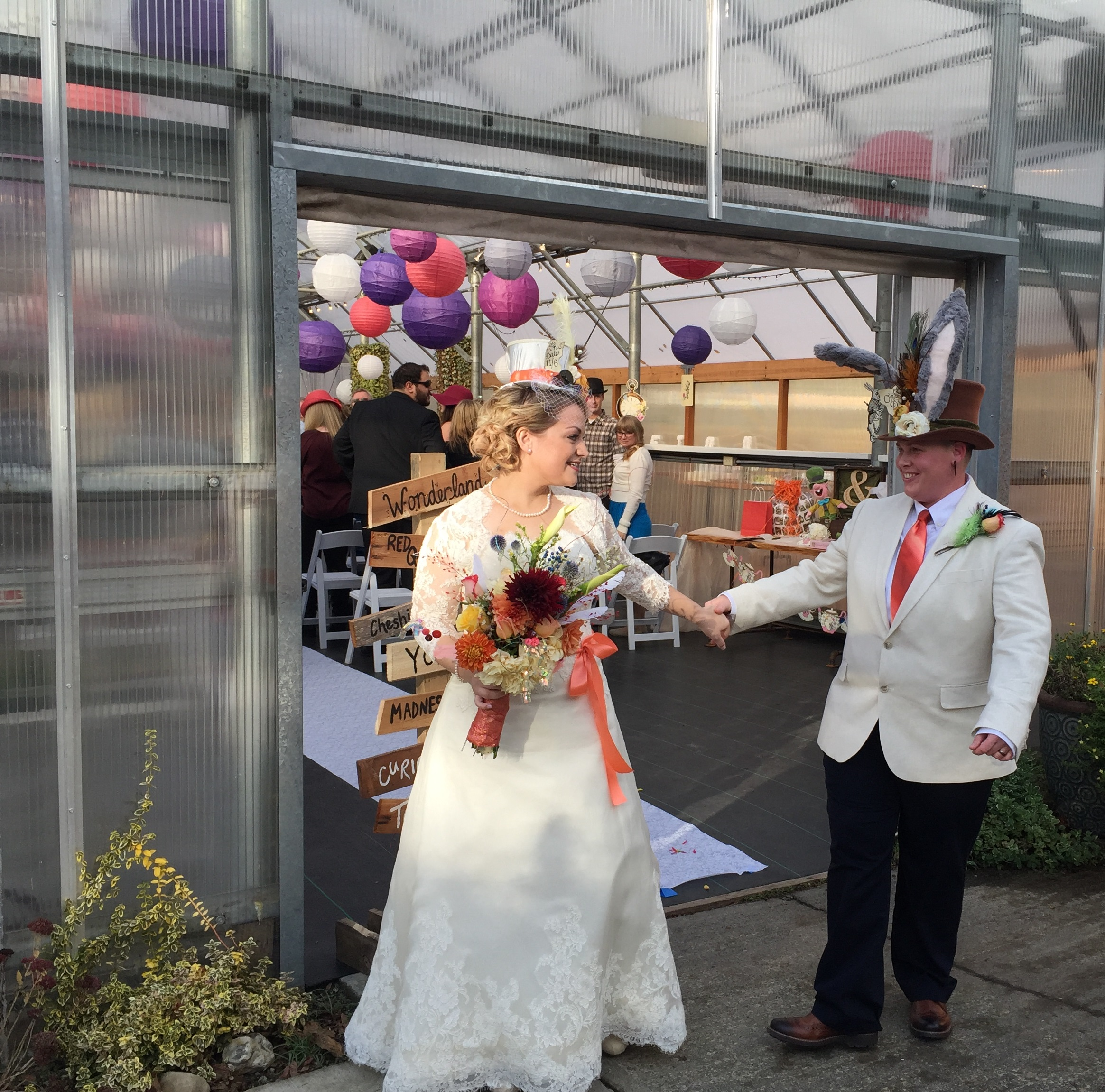 Mad Hatter Brides