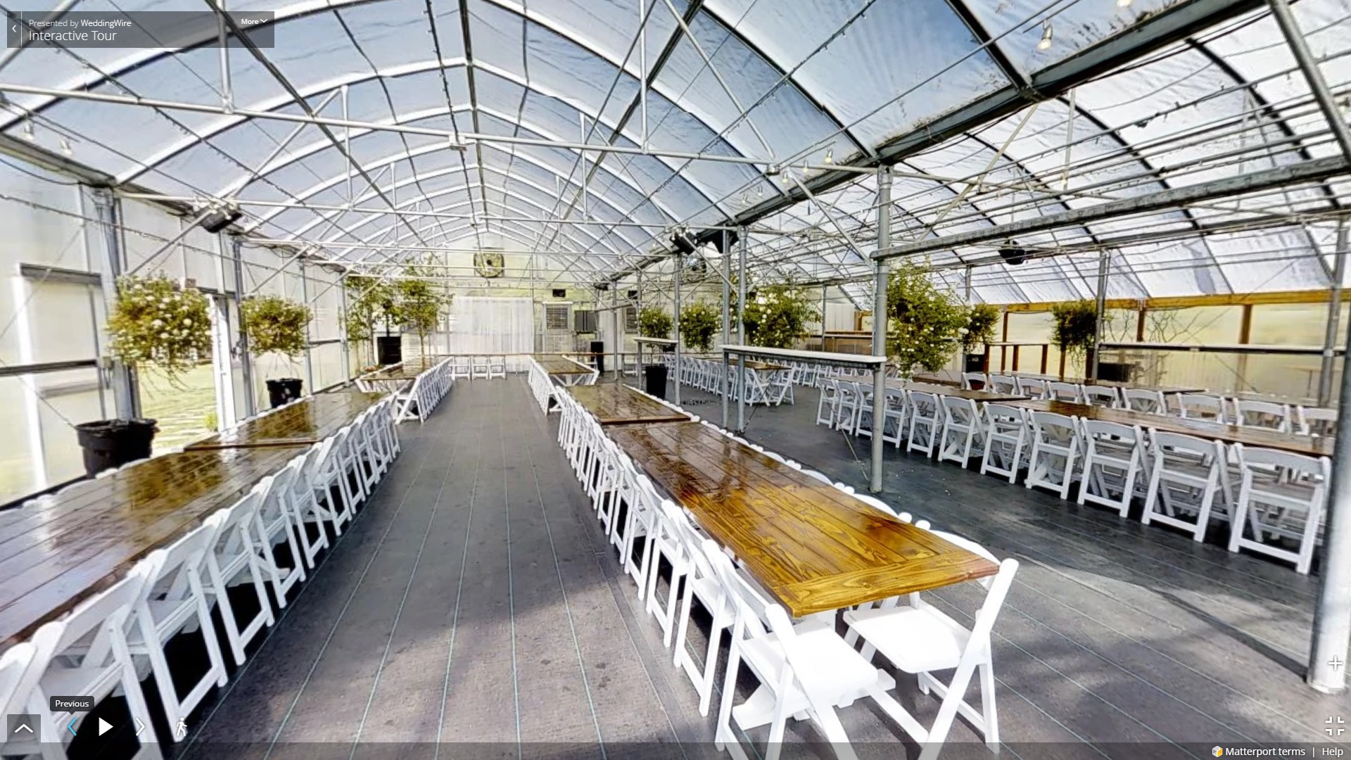 greenhouse weddings