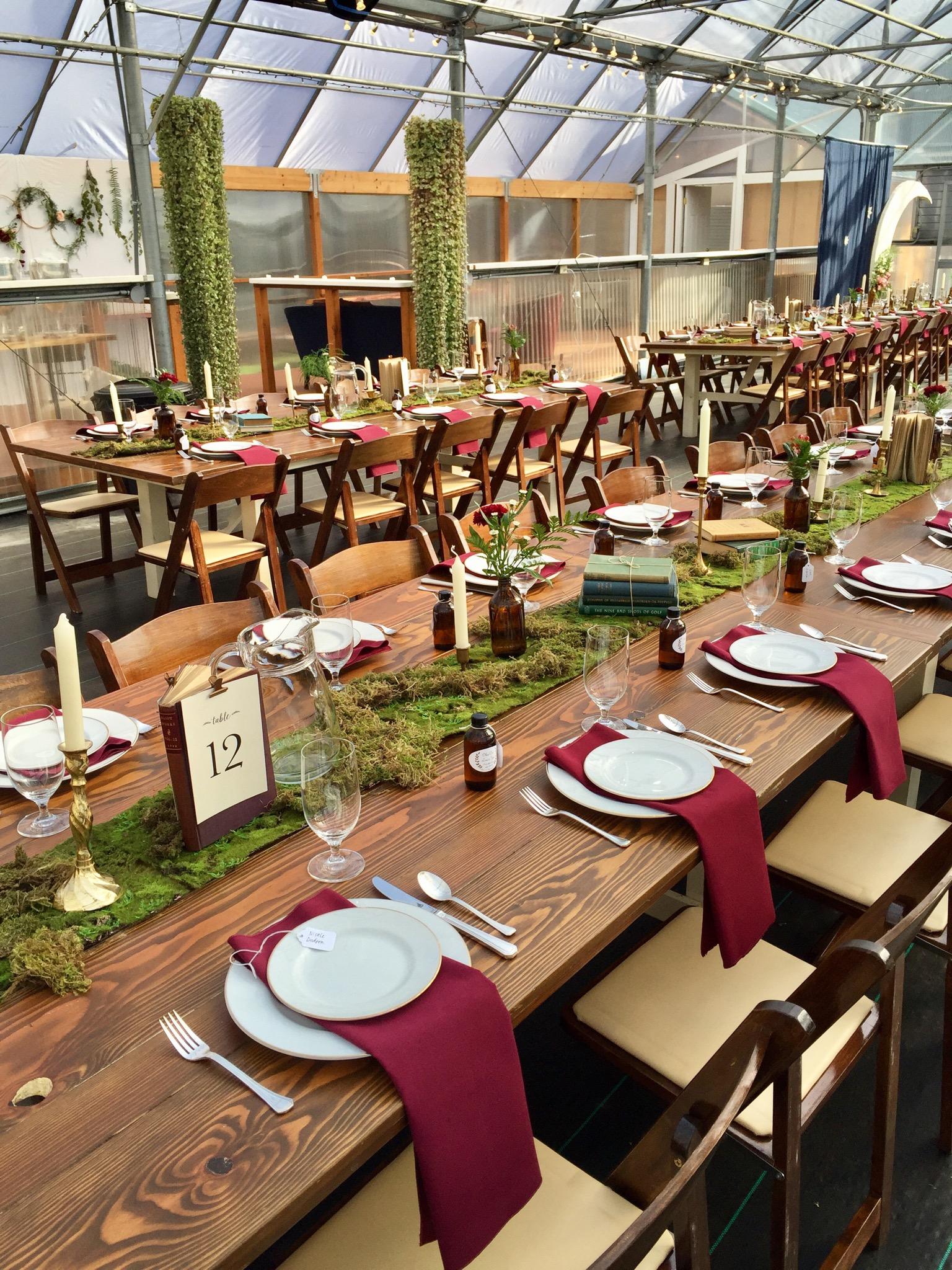 Stunning Farm Tables