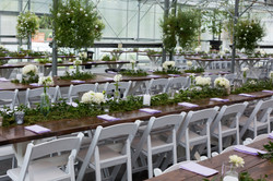 Our rental farm tables