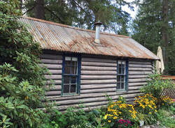 The historic bridal cabin