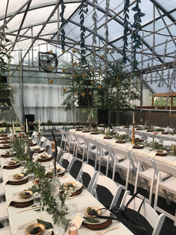 Greenhouse sky decor