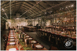 Dreamy vintage reception