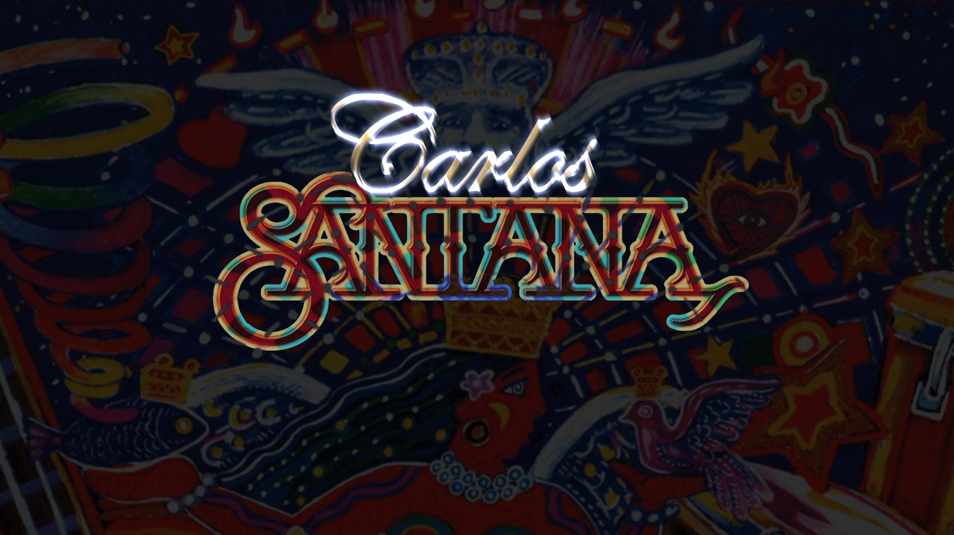 Carlos Santana graphics