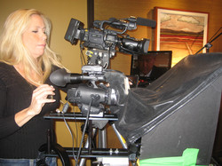 Camera and Teleprompter