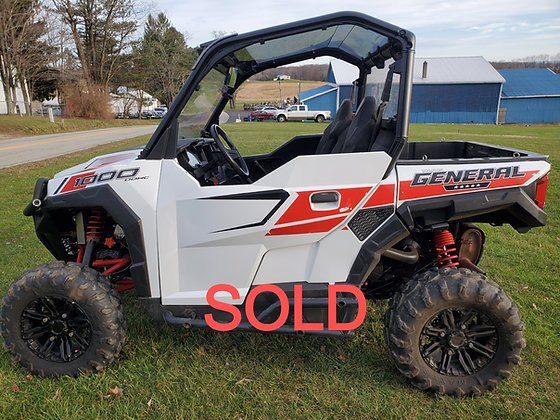 2017 Polaris General 1000 White Lighting