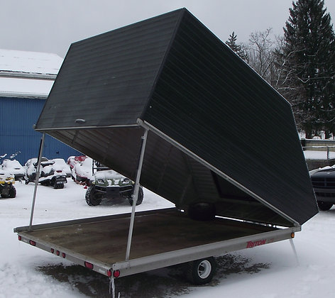 Triton Lite 101 Enclosed Snowmobile Trailer