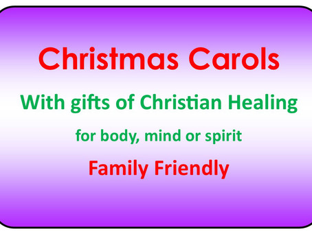 Carols and Healing at the Bught
