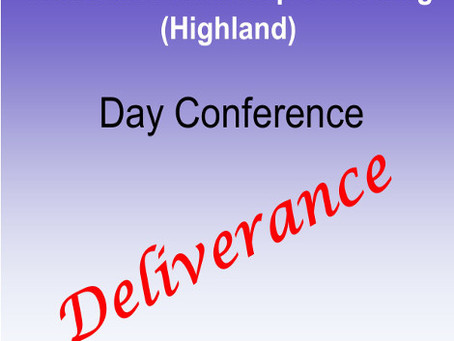 DAY CONFERENCE - DELIVERANCE