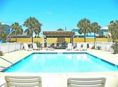 Community Pool with Cabana