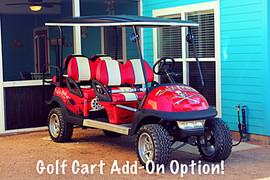 Golf Cart Option Parked @ Cottage