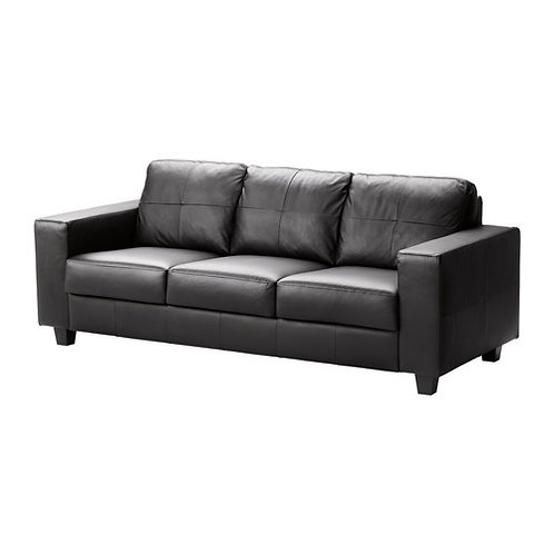 Couch Black Leather