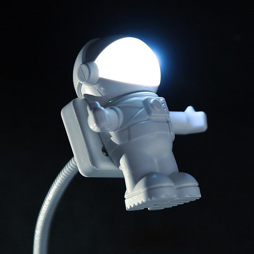 New Style Cool New Astronaut Spaceman USB LED Adjustable Night Light for PC
