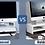 Thumbnail: ABS Ergonomic Laptop Stand & Desk Organizer Drawer