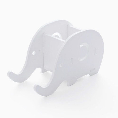 Portable Detachable Cartoon Elephant Mobile Phone Pen Holder