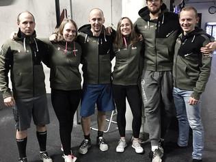 Coacher i nya kläder från CLN Athletics!
