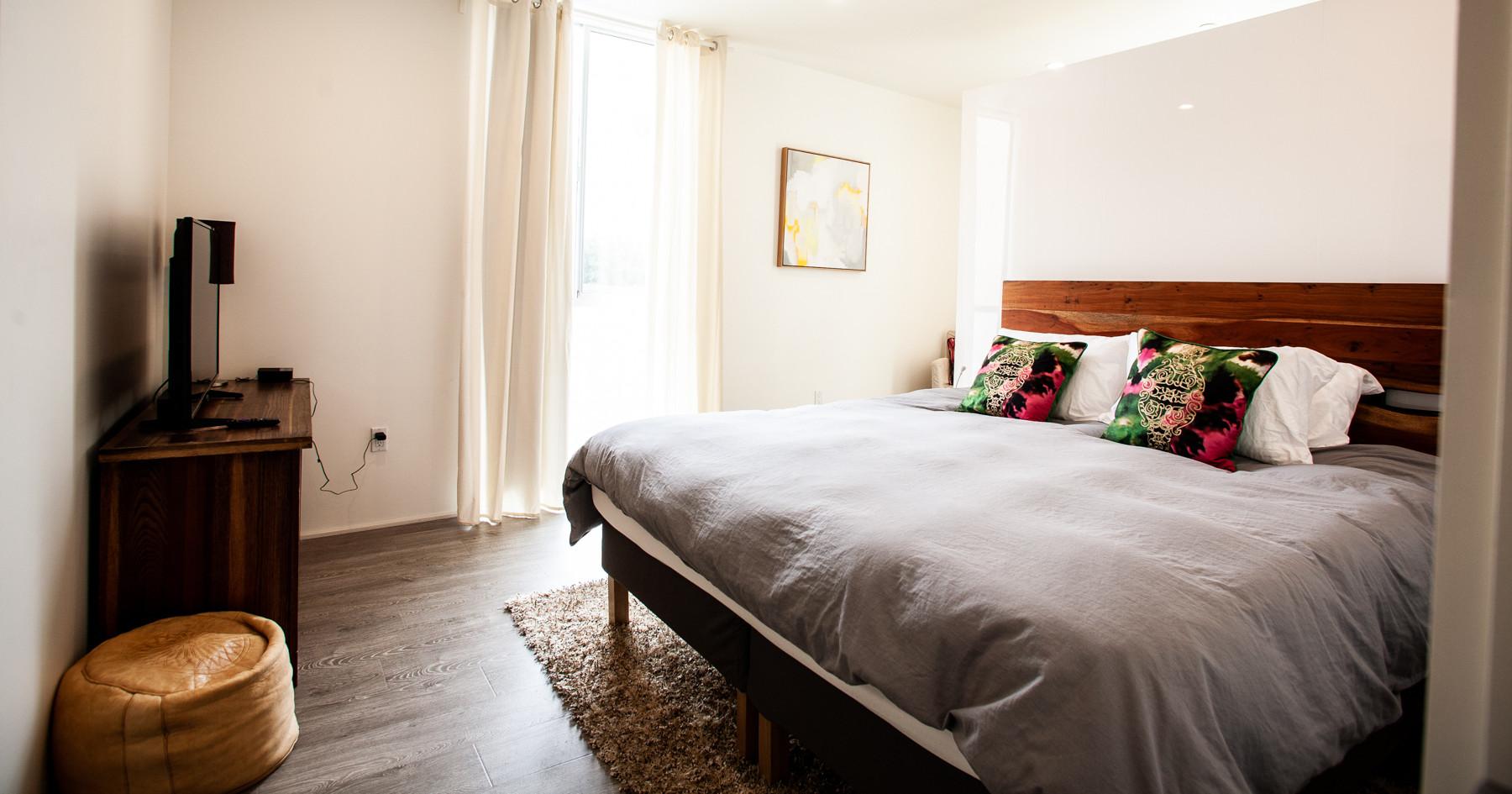 Bedroom 1 at Mariposa