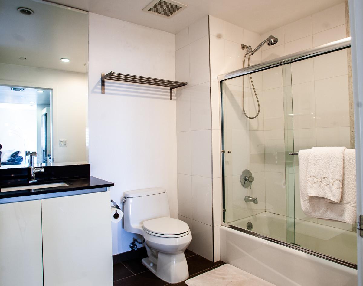 Sawtelle Condo Bathroom