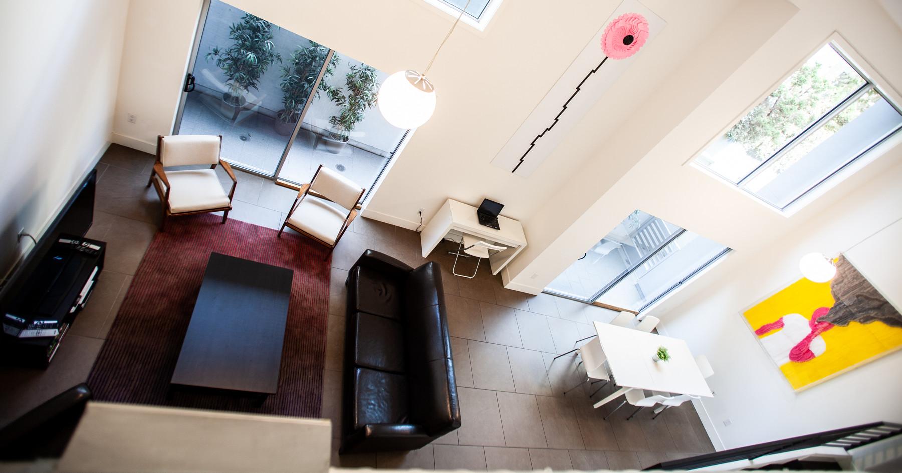 Sawtelle Condo Living Room